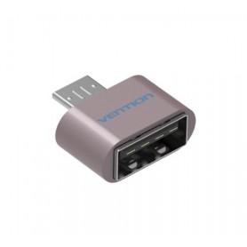 Vention - USB 2.0 naar Micro USB OTG Adapter Converter - USB adapters - V009-P www.NedRo.nl