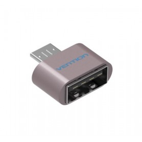 Vention - USB 2.0 to Micro USB OTG Adapter Converter - USB adapters - V009-P www.NedRo.us