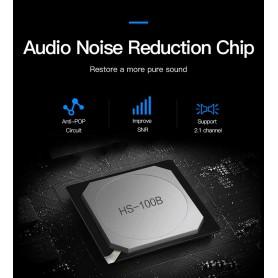 Vention - USB externe geluidskaart naar 3.5mm audio microfoon AUX adapter - Audio adapters - V013-B www.NedRo.nl