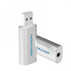 Vention - 3D USB Card Adaptor Sunet 3.5mm Audio Aux Mic - Adaptoare audio - V014-CB www.NedRo.ro