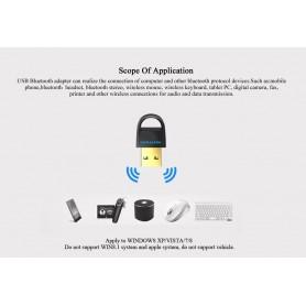Vention, Adaptor Bluetooth USB v4.0 Receiver audio CRS dual, Wireless, V018-CB, EtronixCenter.com
