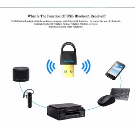 Vention, USB Bluetooth Adapter v4.0 Dual-modus CRS Audio Ontvanger, Wireless, V018-CB, EtronixCenter.com