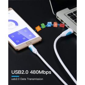 Vention, Cablu de date USB 2.0 la USB de tip C 3.1, Cabluri USB 3.0, V019-CB, EtronixCenter.com