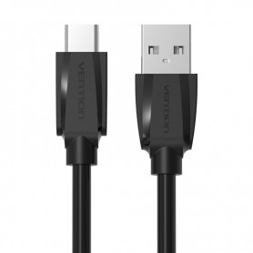 Vention, USB 2.0 naar USB Type-C datakabel - Zwart, USB naar USB C kabels, V020-CB, EtronixCenter.com