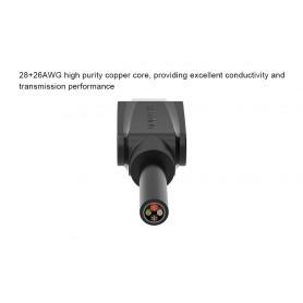 Vention - Cablu de date USB 2.0 la USB de tip C - Negru - Cabluri USB 3.0 - V020-B1 www.NedRo.ro