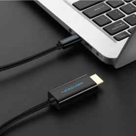 Vention - USB Type-C 3.1 naar HDMI 4K 3D 1.8 Meter - USB naar USB C kabels - V024 www.NedRo.nl