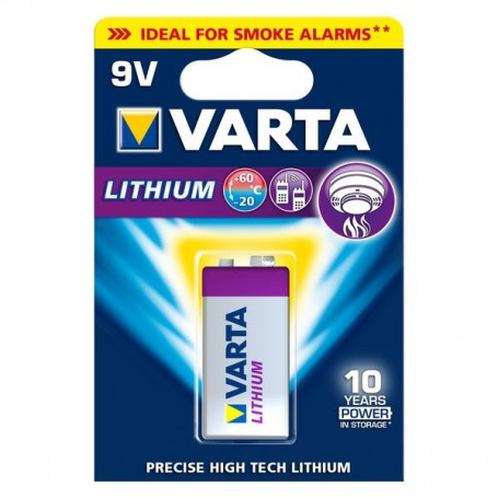Varta, Varta Professional Lithium 9V E-Block 6LP3146 batterij ON066, Andere formaten, ON066-CB, EtronixCenter.com