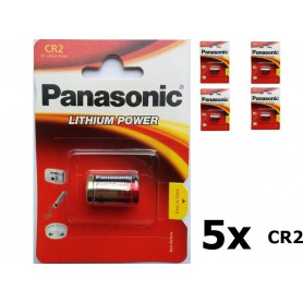 Panasonic - Panasonic CR2 blister lithium battery - Other formats - NK085-5x www.NedRo.us