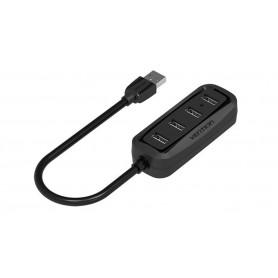 Vention - USB 2.0 Hub 4 Ports USB Splitter OTG Adapter - Ports and hubs - V027-50 www.NedRo.us