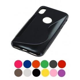 OTB - TPU Case voor Apple iPhone X / XS - iPhone telefoonhoesjes - ON4724-CB www.NedRo.nl