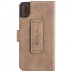 Commander - COMMANDER Bookstyle case for Apple iPhone X - iPhone phone cases - ON4770-CB www.NedRo.us