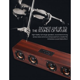 Oem - 12W W8 Bluetooth v4.2 Speaker 3D MP3 Aux TF - Speakers - AL173-CB