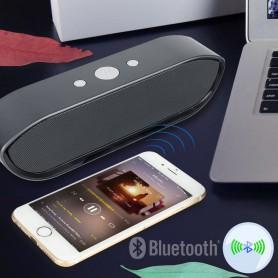 NedRo - 6W CY-01 Bluetooth v4.1 luidspreker 3D MP3 Aux TF - Luidsprekers - AL175-BL www.NedRo.nl
