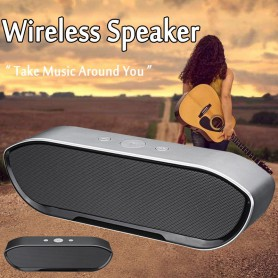 NedRo, 6W CY-01 Bluetooth v4.1 Speaker 3D MP3 Aux TF, Speakers, AL175-CB, EtronixCenter.com
