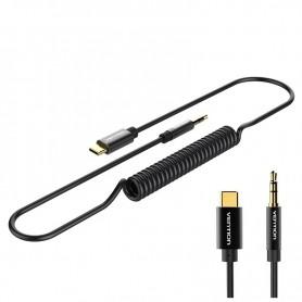 Vention - Adaptor Cablu USB Tip C la Male 3.5mm Audio Jack 1.5m - Cabluri USB la USB C - V032 www.NedRo.ro