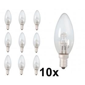 Calex - E14 42W 230V Halogeen Kaarslamp B35 energiebesparing helder - Halogeenlampen - CA0348-10x www.NedRo.nl