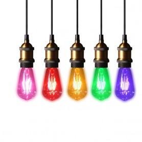 Oem - 2 pieces Vintage E27 4W 185-240V ST64 LED Filament Glass Lamp - Vintage Antique - AL176-CB