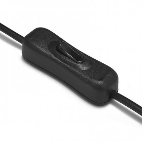 NedRo - On - Off switch for 12V 24V single color LED Strips - LED Accessories - DCC33 www.NedRo.us