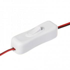 NedRo, Întrerupător LED Stip 10mm, cu 2 pini, LED singură culoare 12V 24V, LED Accessorii, LSCC25-CB, EtronixCenter.com