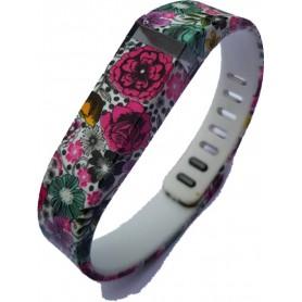 OTB - FloralFlex TPU armband voor Fitbit Flex - Armbanden - SF1-S www.NedRo.nl