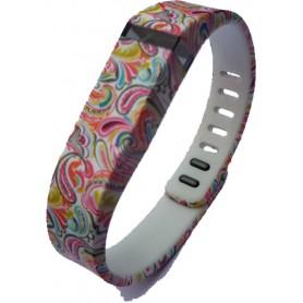 OTB - FloralFlex TPU armband voor Fitbit Flex - Armbanden - SF2-S www.NedRo.nl