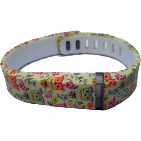 NedRo - FloralFlex TPU bracelet for Fitbit Flex - Bracelets - AL180-CB www.NedRo.us