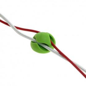 OTB - 6 stuks zelfklevende kabelhouder kabelklemmen in 3 kleuren - Computer gadgets - ON4998-C www.NedRo.nl