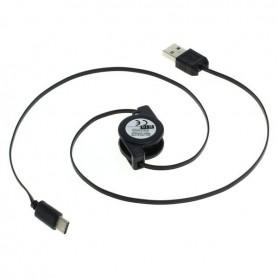 OTB - Cablu de date - Conectorul USB de tip USB C (USB-C) la USB A (USB-A 2.0) 0.7m poate fi rulat - Cabluri USB la USB C - O...