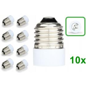NedRo - E27 to MR16 Socket Base Converter Adapter - Light Fittings - LCA109-10x www.NedRo.us