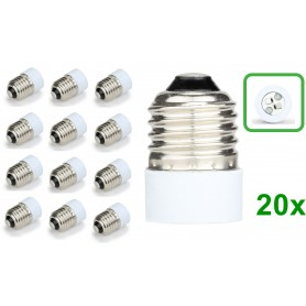 NedRo - E27 to MR16 Socket Base Converter Adapter - Light Fittings - LCA109-20x www.NedRo.us