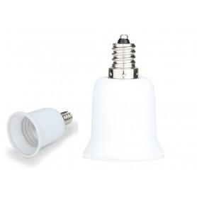NedRo, E12 naar E27 Fitting Omvormer, Lamp Fittings, LCA24-CB, EtronixCenter.com