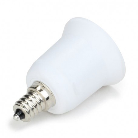 NedRo - E12 naar E27 Fitting Omvormer - Lamp Fittings - LCA24-CB www.NedRo.nl