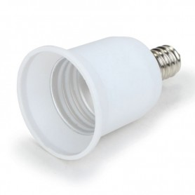 NedRo - E12 to E27 Socket Converter - Light Fittings - LCA24-CB www.NedRo.us