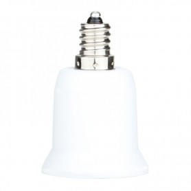 NedRo, Convertor dulie E12 la E27, Corpuri de iluminat, LCA24-CB, EtronixCenter.com