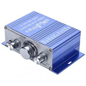 NedRo - RCA Tulp 2-kanaals hifi-stereoversterker audio versterker - Audio adapters - AL146-SI-C www.NedRo.nl