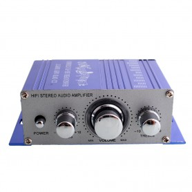 NedRo - RCA 2 Channel Hi-Fi Stereo Amplifier Booster - Audio adapters - AL146-SI-C www.NedRo.us