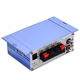 NedRo - RCA Tulp 2-kanaals hifi-stereoversterker audio versterker - Audio adapters - AL146-CB www.NedRo.nl