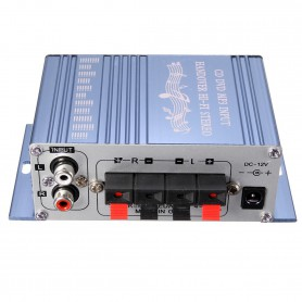 NedRo, RCA Tulp 2-kanaals hifi-stereoversterker audio versterker, Audio adapters, AL146-CB, EtronixCenter.com