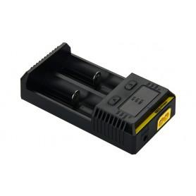 NITECORE - Nitecore Intellicharge New i2 for Li-ion, NiMH, Ni-Cd - Battery chargers - BS002