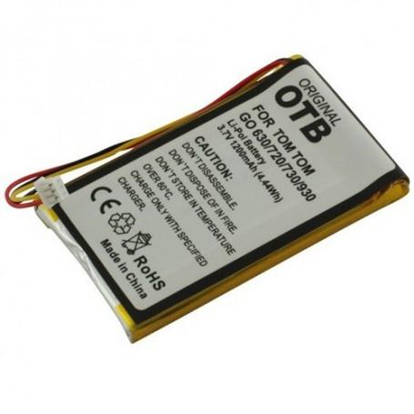OTB, Battery for TomTom Go 720 1200mAh Li-Polymer ON1840, Navigation batteries, ON1840