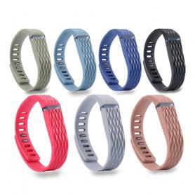 NedRo - Matrix Line - TPU armband voor Fitbit Flex - Armbanden - AL182-C-CB www.NedRo.nl