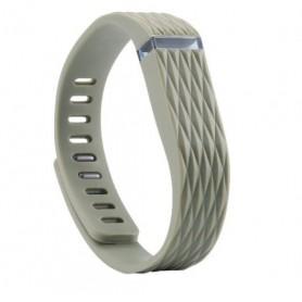 NedRo - Matrix Line - TPU armband voor Fitbit Flex - Armbanden - AL182-GY-C www.NedRo.nl