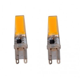 NedRo - G9 10W Warm White COB LED Lamp - Dimmable - G9 LED - AL184-2x www.NedRo.us