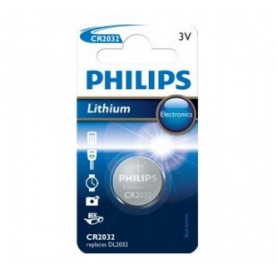 Philips CR2032 lithium button cell battery