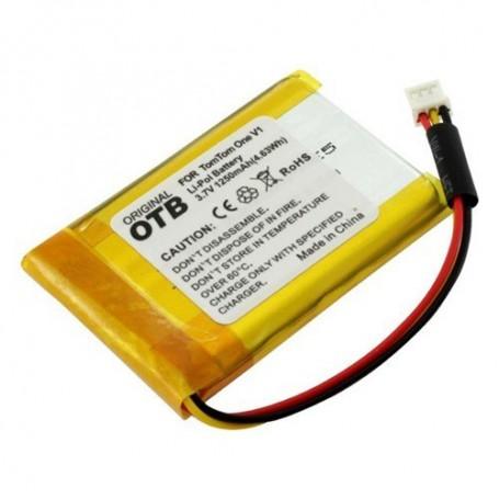 OTB, Accu voor TomTom One V1 1250mAh Li-Polymer, Navigatie Batterijen, ON1843, EtronixCenter.com