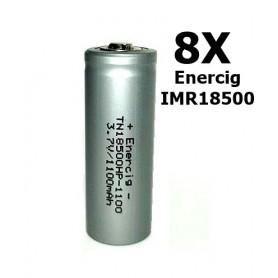Enercig, Enercig IMR18500 Oplaadbare batterij 1100mAh - 22A, Andere formaten, NK143-CB, EtronixCenter.com