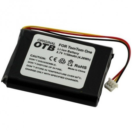 OTB - Battery for TomTom One/One Europe/Rider/V2/V3 1150mAh ON1845 - Navigation batteries - ON1845-C www.NedRo.us