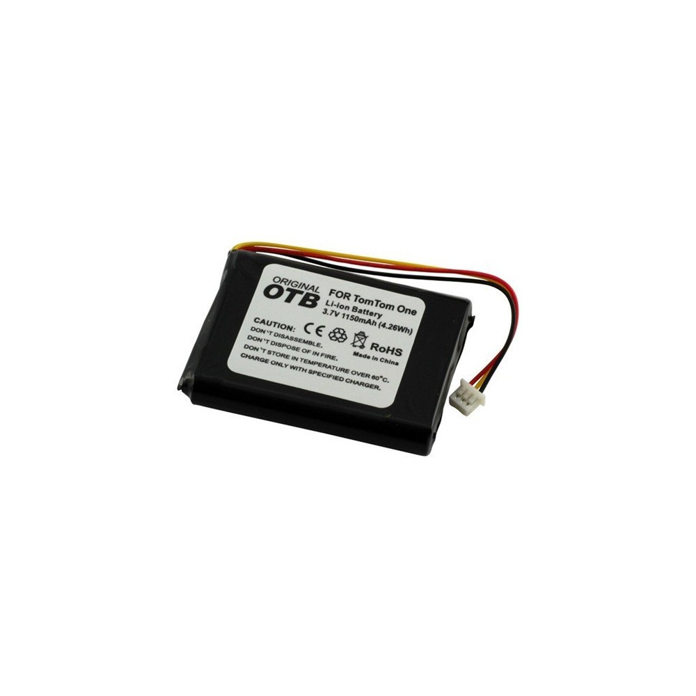 Accu voor TomTom One/One Europe/Rider/V2/V3 1150mAh ON1845