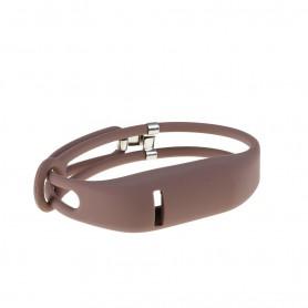 NedRo - Click On TPU armband voor Fitbit Flex - Armbanden - AL186-BR www.NedRo.nl