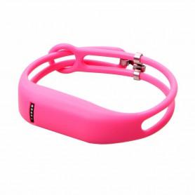 NedRo - Click On TPU armband voor Fitbit Flex - Armbanden - AL186-PI www.NedRo.nl
